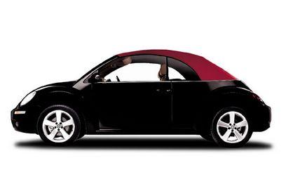 Volkswagen Beetle convertible Red Edition