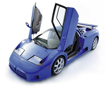 Bugatti EB 110Supercar