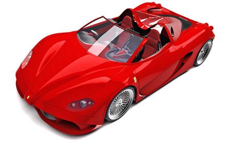 Ferrari Aurea SpiderConcept