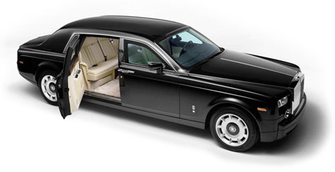 Rolls Royce Armored Phantom