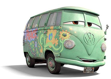 Volkswagen Type 2 in Pixar MovieCars
