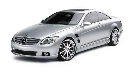 Lorinser Mercedes CL on HRE 893R