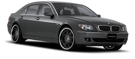 BMW 7 Series on Mözwheels