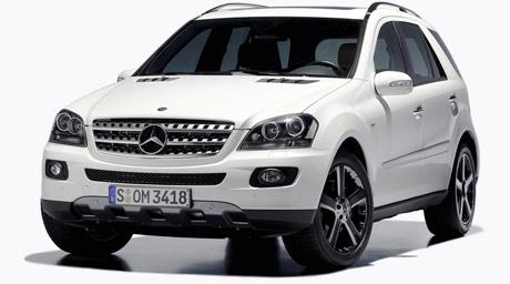 "Mercedes M Class ""Edition10″"