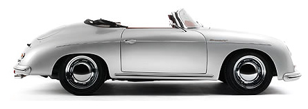 Porsche on The Porsche Speedster Replica From Tygan Is Powered By An Air Cooled