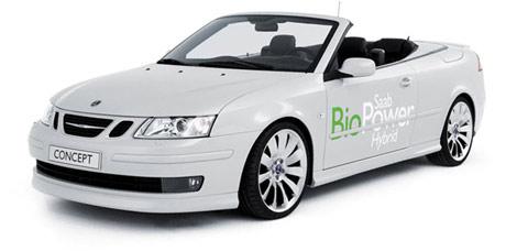 Saab BioPower Hybrid Cabrio