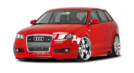 audi a3 sportback rieger tuning euro cars. Black Bedroom Furniture Sets. Home Design Ideas