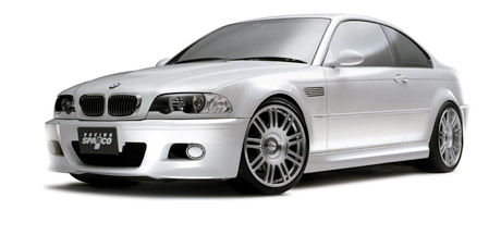 BMW E46 M3 on Sparco Wheels