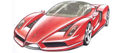 Ferrari on Ferrari Enzo Concept   Euro Cars
