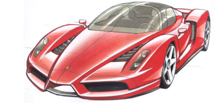 Ferrari EnzoConcept