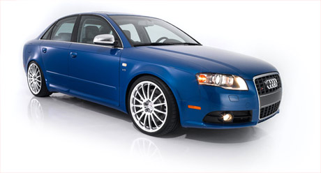 Audi A4 with Champion Motorsport Wheels