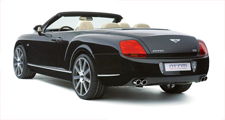 Bentley Continental GT Cabrio GTC Tuning by MTM