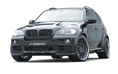 Hamann introduced the Flash   package for the BMW X5