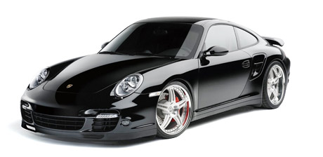 Porsche 997 Turbo on HRE Wheels
