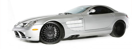 Mercedes SLR on 20″ Forgiato Wheels