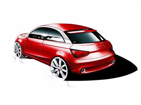 Audi Metroproject Audi A1 Concept Car