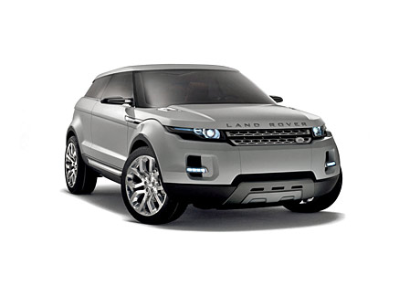 Land Rover LRX Coupe Concept SUV