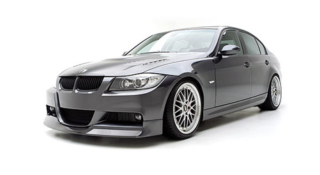 BMW E90 Sedan Front Spoiler BMW 3 Series Tuning