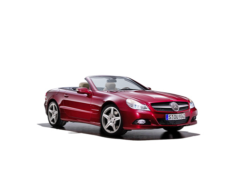 SL Roadster Cabrio Coupe New Phase 2 Mercedes-Benz Mercedes Sports Car