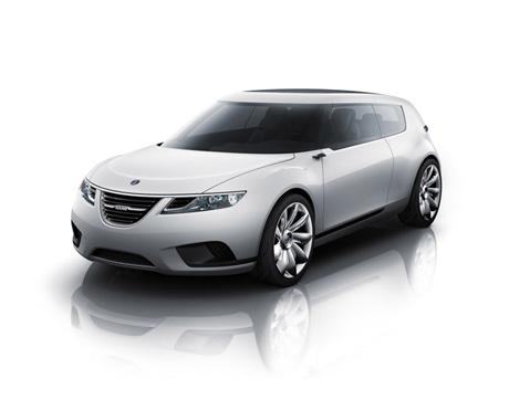 Saab 9-X Concept Hybrid concept Car 9XSaabBioHybrid