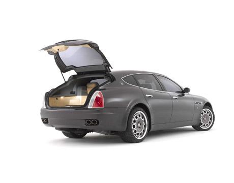 Maserati Cinqoporte Custom Coachbuilding