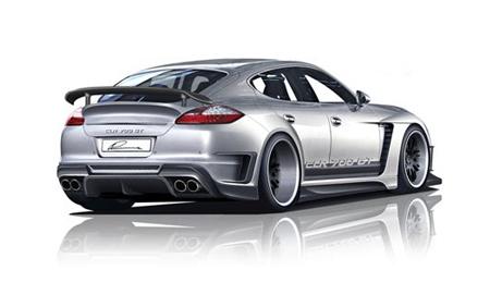 Porsche Panamera Lumma Tuning Aftermarket Wheels Body-Kit