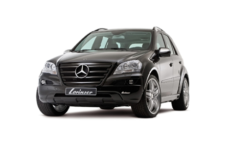 Merecedes M-Class ML SUV Lorinser Tuning Aftermarket Wheels Body-Kit
